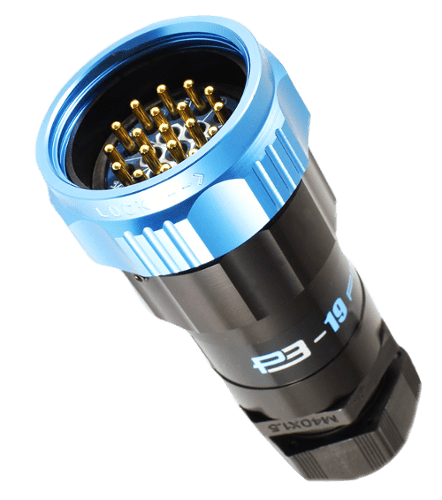 Showsafe 19-Pin Socapex Connector