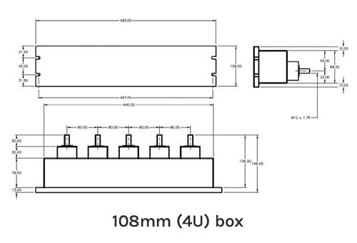 108mm (4U) Box