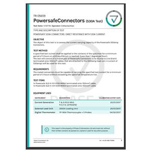 TR-05659 - Powersafe 500A Connectors